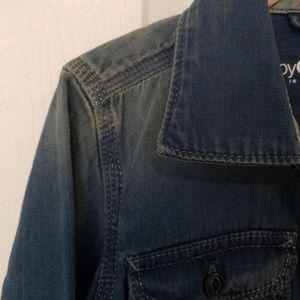 GAP Shirts & Tops - Boy denim bottom down